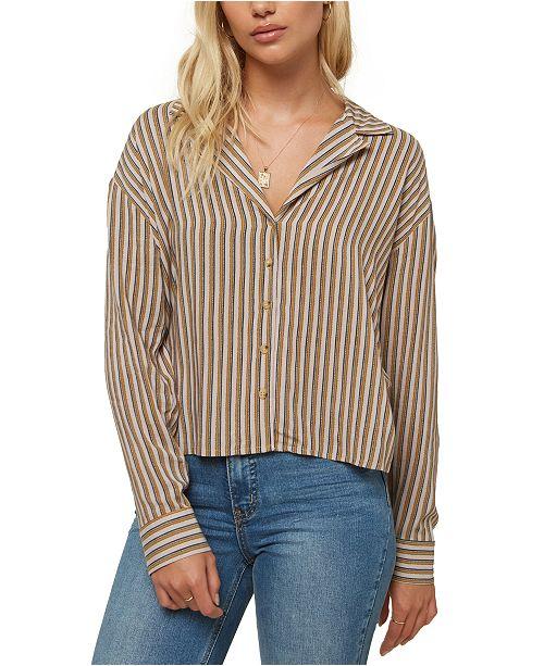 O'Neill Juniors' Makara Striped Shirt