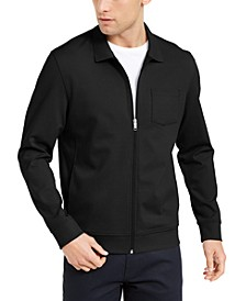 Men's Knit Shirt Jacket, Created for Macy's