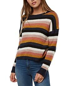 Juniors' Daze Striped Sweater