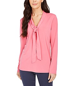 Woven Tie Top, Created for Macy's