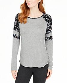 Rae Raglan Pajama T-Shirt, Online Only