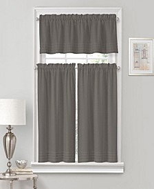 Vue Window Solutions Kingsbury 52'' x 45'' Pleated Tier Pair