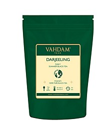 Darjeeling Premium Black Tea Leaves, 100% Certified Pure Unblended Darjeeling 50 Servings