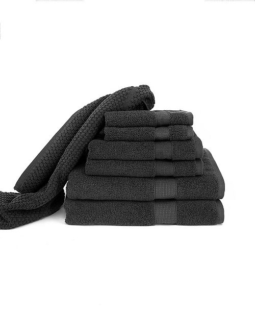 BUMBLE TOWELS Blake Deluxe Combed Cotton Bath 7 Piece Set