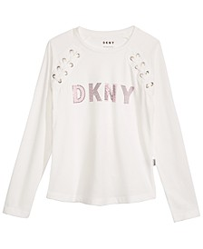 Big Girls Lace-Up T-Shirt