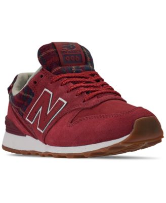 red new balance women's sneakers
