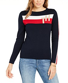 Colorblocked-Stripe TH Sweater