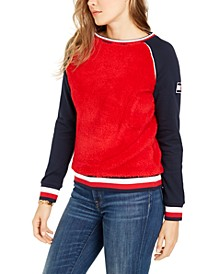 Colorblocked Fleece Sweatshirt
