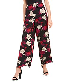 Enchanted Floral Wide-Leg Pants