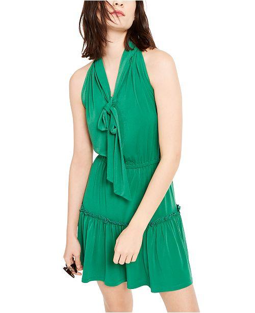 Michael Kors Tie-Neck Dress