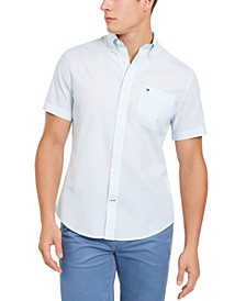 Men's Wainwright Custom-Fit Solid Shirt