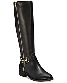 Vigi Wide-Calf Riding Boots, Created for Macy's