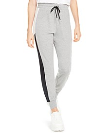 Juniors' Colorblocked Jogger Pants, Created for Macy's