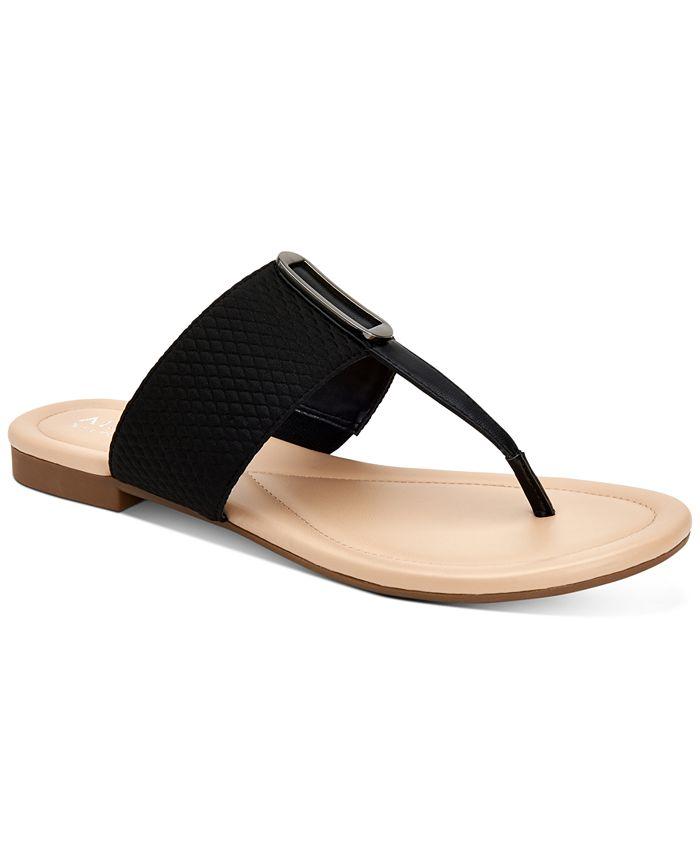 Alfani - Women's Hewitt Thong Flat Sandals