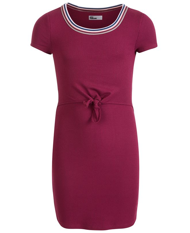 Epic Threads Big Girls Tie-Front Dress, Created for Macy's