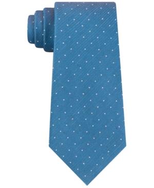 Kenneth Cole Reaction Men's Slim Textured Pindot Tie