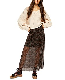 Seven Wonders Maxi Skirt