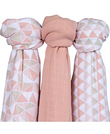 Muslin Bamboo Swaddles 2 Pack