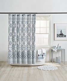 Capri Medallion Shower Curtain