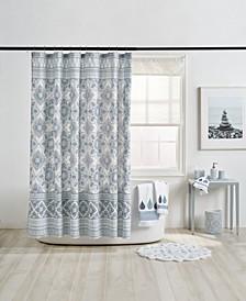 Capri Medallion Shower Curtain
