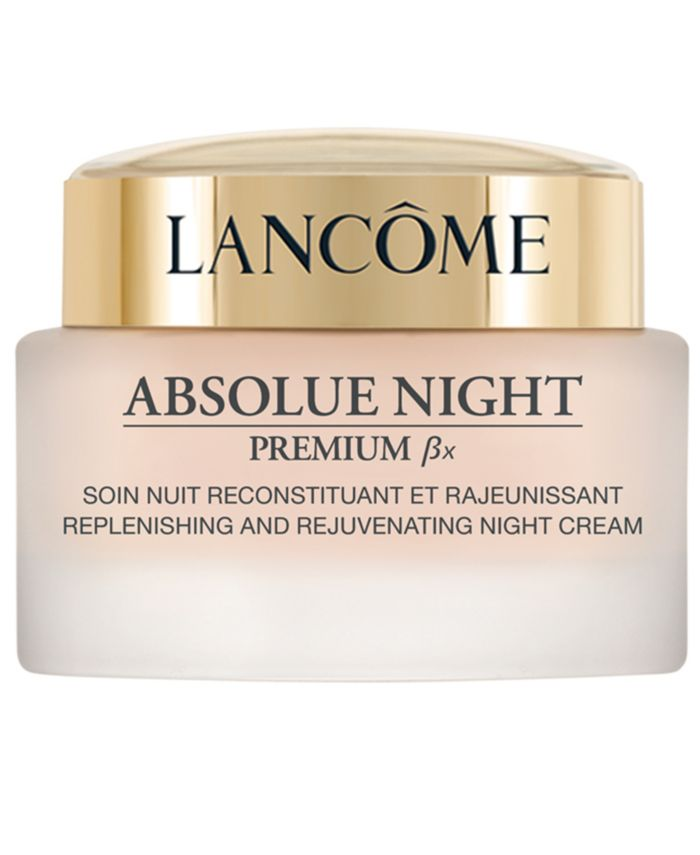 Lancôme Absolue Premium Bx Night Recovery Moisturizing Anti-Aging Cream, 2.6 oz. & Reviews - Skin Care - Beauty - Macy's