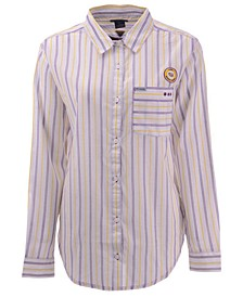 Women's LSU Tigers Sundrifter Button Up Shirt