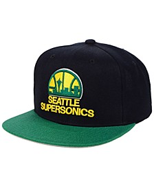 Seattle SuperSonics 2 Tone Classic Snapback Cap