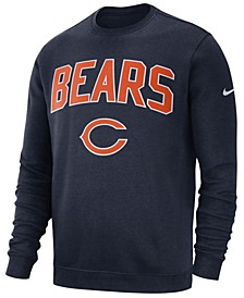 Men's Chicago Bears Fleece Club Crew Sweatshirt