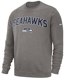 Men's Seattle Seahawks Fleece Club Crew Sweatshirt