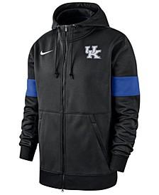 Men's Kentucky Wildcats Therma Sideline Hooded Full-Zip Jacket
