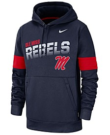 Men's Ole Miss Rebels Therma Sideline Hooded Sweatshirt