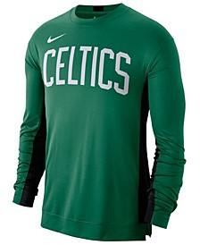 Men's Boston Celtics Dry Top Long Sleeve Shooter Shirt