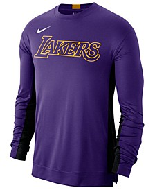 Men's Los Angeles Lakers Dry Top Long Sleeve Shooter Shirt