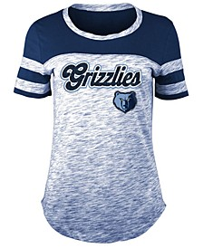 Women's Memphis Grizzlies Space Dye T-Shirt