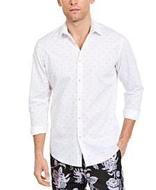 INC Men's If Elias Ditsy Floral Printed Shirt, Created for Macy's