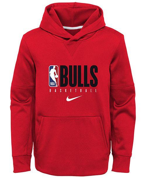 Nike Big Boys Chicago Bulls Spotlight Hoodie