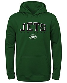 Big Boys New York Jets Fleece Hoodie