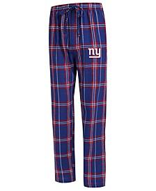 Men's New York Giants Hillstone Flannel Pants