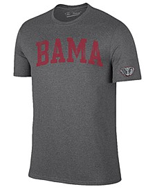 Men's Alabama Crimson Tide Oversized Arch Dual Blend T-Shirt
