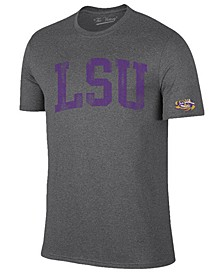 Men's LSU Tigers Oversized Arch Dual Blend T-Shirt