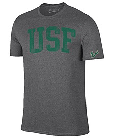 Men's South Florida Bulls Oversized Arch Dual Blend T-Shirt