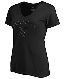 Women's Vegas Golden Knights Foil  T-shirt