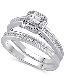 Certified Diamond (3/8 ct. t.w.) Bridal Set in 14K White Gold