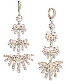Crystal Tiered Chandelier Earrings