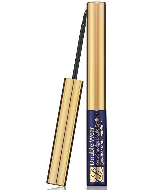 Estee Lauder Double Wear Zero Smudge Liquid Eyeliner, 0.1 oz.