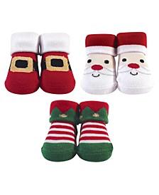 Baby Boy Socks 3 Piece Gift Set