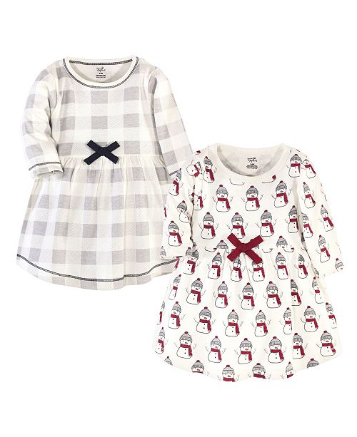 Touched by Nature Baby Girl Dresses, Set of 2
