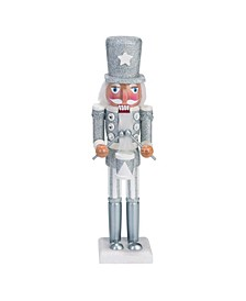 Wood White Christmas Whimsical Nutcracker Decor