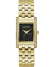 Women's Gold-Tone Stainless Steel Bracelet Watch 21x33mm