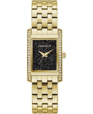 Women's Gold-Tone Stainless Steel Bracelet Watch 21x33mm